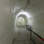 langer Tunnel zum historischen Fahrstuhl Wanganuis