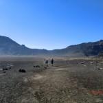 über das Kraterplateau