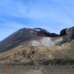 durch ein weiteres Plateau zwischen Vulkanen