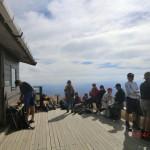 Ketetahi Hütte auf 1400m... und wir konnten kaum mehr