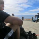 Pause auf der Ketetahi Hütte