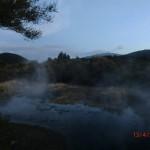 Tokaanu: heiße Quellen in den Gärten