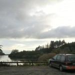 Lake Mangamahoe am Morgen nach Wolfis Bergruf