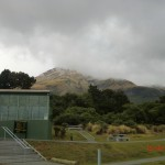 North Egmont Visitor Centre am Mount Taranaki (950m)