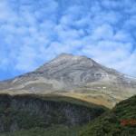 schnelle Wetterwechsel überm Mount Taranaki