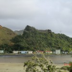Tongaporutu Strand III (bunte Häuschen)