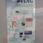 Kiwiana-Galerie Otorohanga: NZ Flagge