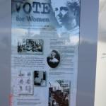 Kiwiana-Galerie Otorohanga: Wahlrecht für Frauen