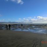Te Puia Hot Springs Strand - weit, fast einsam und wunderschön!!!