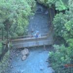 Bridal Veil Falls: Tini am unteren Lookout Punkt