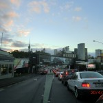 Auf in Aucklands Zentrum, auf zum Treffen mit Christina