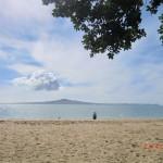 Mission Bay und Blick auf Rangitoto Island