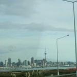 Fahrt zurück nach Auckland City