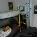 unser Doppelzimmer und Muffel auf Wolfis Osterei am Ostersonntag :-)