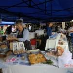 auf dem Farmersmarkt in Parnell