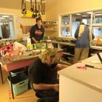 schöner Koch-Back-Regentag mit Katja-Kerstin, Anne und Deniz