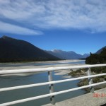 Fahrt zur Jackson Bay III (von einer einspurigen Brücke)