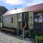 Jackson Bay - kleines Fisch-Restaurant