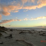 Ship Creek Strand in der Abendsonne II