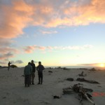 Ship Creek Strand in der Abendsonne IV (die vier Dortmunder)