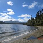 Lake Paringa - hier waren wir baden mit Marian und Felix