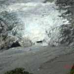 wo die Eiszunge ins Steinbett mündet