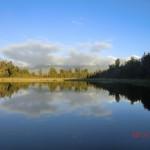 Spiegelungen am Lake Matheson