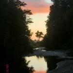 Abendröte am Lake Matheson II
