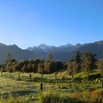 Morgenstimmung am Lake Matheson