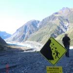 Erkundung des Fox Gletschers