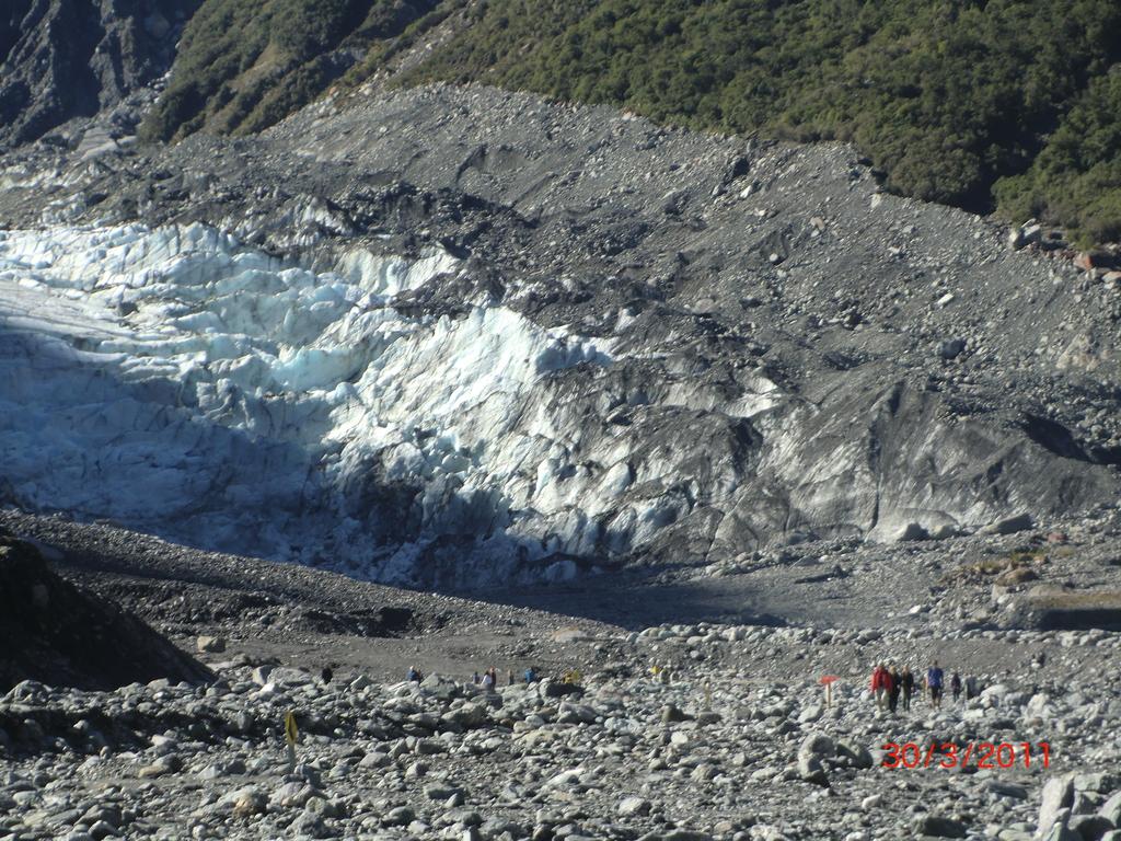Fox Gletschereis in der Ferne