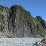 steile Bergwände