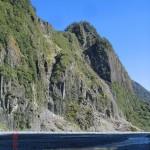 zurück zum Parkplatz durchs Steinbett des Gletscherflusses