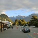 Franz Josef Glacier Township... noch ein Touri-Alpendorf