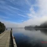 Lake Mapourika am Morgen V