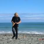 Okarito Lagoon Beach: Wolfis Fund - der muss mit!