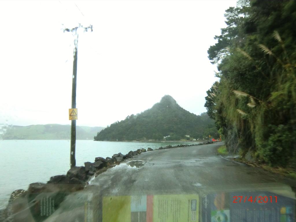 entlang der Huia Road