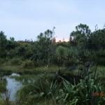 Sonnenuntergang bei den Dünen Whatipus