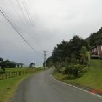 Rückfahrt über die Huia Road