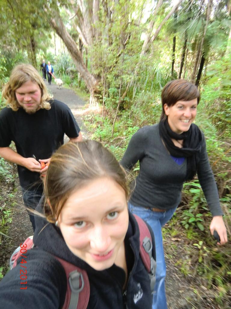 Walk zum Upper Huia Dam