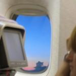 hoch in der Luft, irgendwo zwischen Neuseeland und Australien