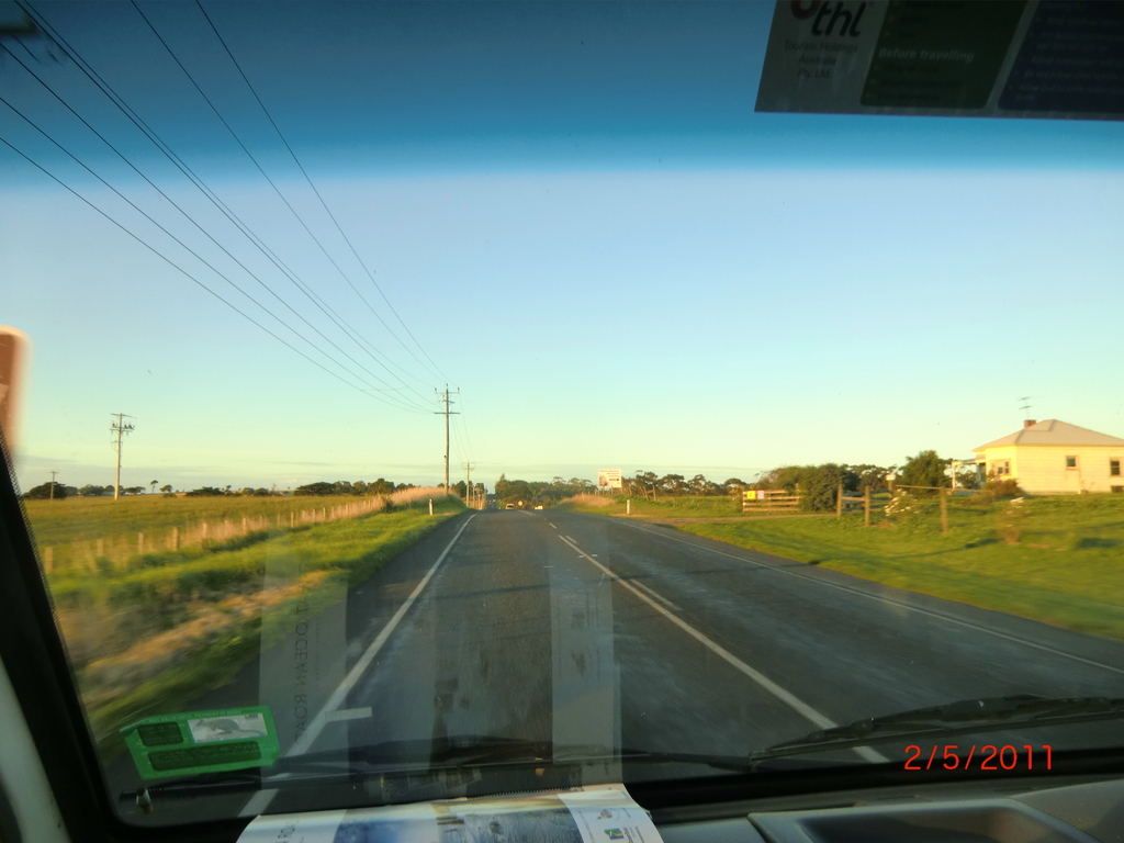 on the road in Australien - Bellarine Peninsula