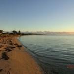 australischer Sonnenuntergang am Meer auf der Bellarine Peninsula vor Portalington II