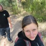 unser erster australischer Walk auf der Bellarine Peninsula in einem Reserve nahe Ocean Grove