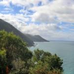 weiter entlang der Great Ocean Road (Lookout zwischen Lorne und Apollo Bay)