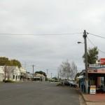 nun geht es ins Landesinnere von Victoria: Dunkeld, ein Highwayörtchen
