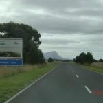 Mount Abrupt ragt dort empor - Willkommen im Grampians Nationalpark