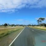 Fahrt durch australische Weiten zu den Grampians