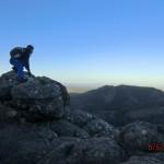 Nachmittagswanderung ab Halls Gap in den Grampians - zweiter Versuch: Gipfelselbstportrait