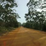 tolle, rote, australische Straßen - zwischen Halls und Roses Gap